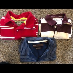 Other - Lot of 3 men's collared polos, size L